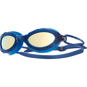 TYR Nest Pro Mirrored Goggles gold/navy